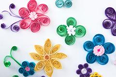 Illustration fleur activité animation
